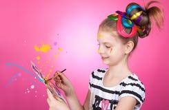 Child and creativity, development. Stock Images