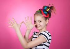 Child and creativity, development. Royalty Free Stock Image