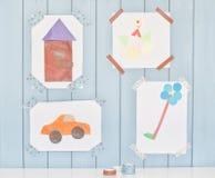 Child creativity Royalty Free Stock Photos