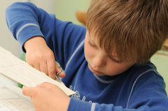 Child creativity stock photos