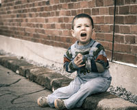 Child crying Royalty Free Stock Photography