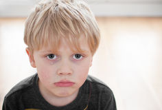 Child crying Royalty Free Stock Photos
