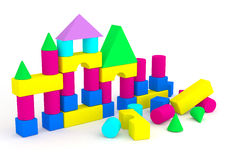 Child_CUBES_1 Royalty Free Stock Image