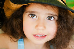 Child with curly hair Stock Photography
