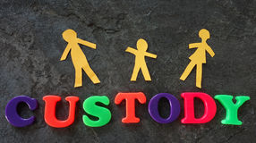 Child custody concept Stock Photo