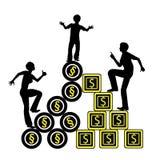 Child Custody and Money Royalty Free Stock Image