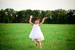 Child dancing Royalty Free Stock Images