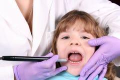 Child dental check Stock Photo