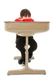 Child Desk Student Work Stock Photography
