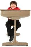 Child Desk Student Work Stock Images