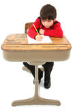 Child Desk Student Work Stock Image