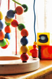 Child development games. Colorful playful child development games Stock Photography