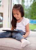 Child with Digital Tablet Stock Images