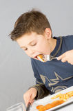 Child dinner_8 Royalty Free Stock Photo