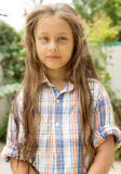Child with disheveled hair Stock Photos