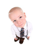 Child Doctor Looking Up at the Viewer Stock Photos