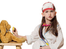 Child doctor Royalty Free Stock Images