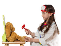 Child doctor Royalty Free Stock Photos
