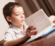 Child doing homework Stock Photos