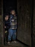 Child door Stock Photography