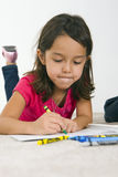 Child drawing Royalty Free Stock Images