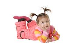 The child dreams Stock Image