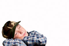 Child dreams stock images