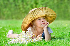 A child dreams Royalty Free Stock Images
