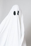 Child dressed as a ghost for halloween Royalty Free Stock Photos