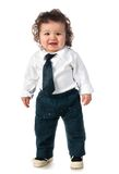 Child dressed in a business Stock Photography