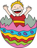 Child in Easter Egg Royalty Free Stock Image