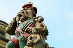 The Child Eater Fountain (Kindlifresserbrunnen) Stock Image