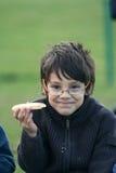 Child eating Royalty Free Stock Photos