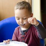 Child eating Stock Photos