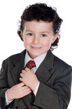 Child with elegant clothes Royalty Free Stock Photos