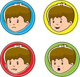 Child Emotions Royalty Free Stock Images