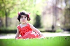 Child enjoying sunny day Stock Photos