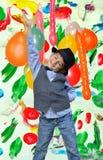 Child enjoys Royalty Free Stock Photography