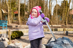 Child - excalibur Royalty Free Stock Photography