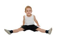 Child exercising Stock Image