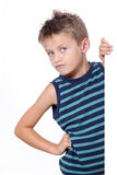 Child expression Stock Photography