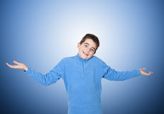 Child with expression Royalty Free Stock Images