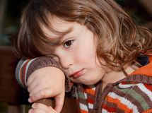 Child expression Royalty Free Stock Photos