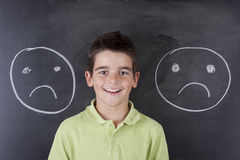 Child with expressions Stock Photography