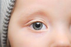 Child Eye stock photography
