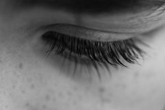 Child Eyelashes stock photography