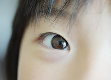 Child eyes Stock Images