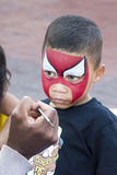 Child face painting Royalty Free Stock Photo