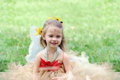 Child in Fairy Costume Royalty Free Stock Photography