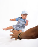 Child Falling Royalty Free Stock Photos
